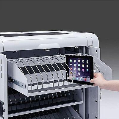 食洗機、じゃなくて充電器--48台まとめて充電する iPad・タブレット保管庫