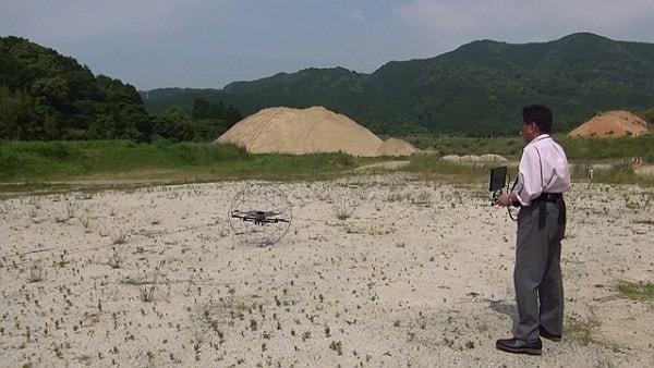 ドローン規制でも安心--福岡県に法人向けの飛行場開設