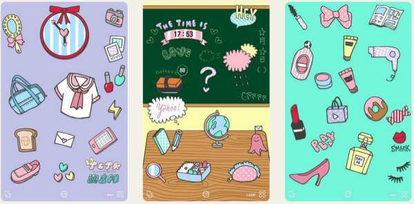 現役女子中高生とヤフーのプロジェクトで、 Android スマホをかわいくする無料の着せ替えアプリが