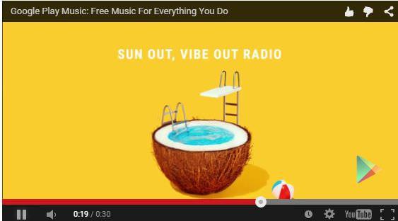 無料で聞けるGoogle Play Music、ただし広告付き