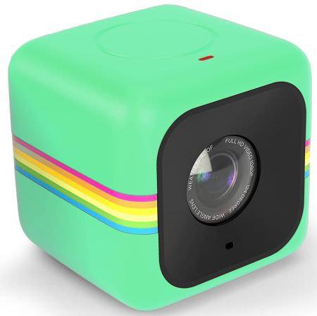 アクションカメラ「Polaroid Cube」がWi-Fiを内蔵、スマートフォンと連携