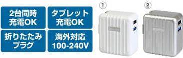 旅のお供にスーツケース型充電器はいかが?