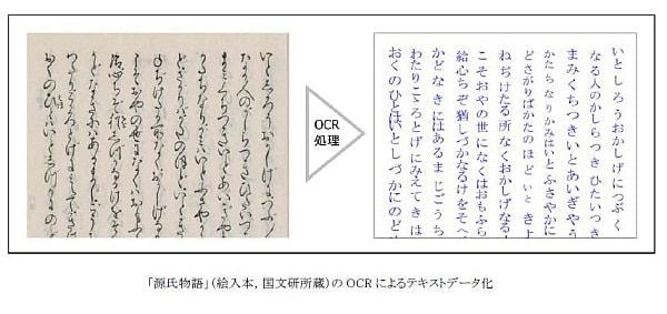 """貴重な資料を後世に--江戸期以前の""""くずし字""""を判読するOCR技術が凸版印刷から"""