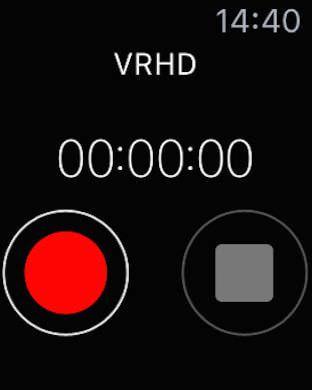 Apple Watchから操作できる録音アプリ「Voice Recorder HD」