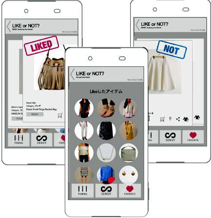 ファッション人工知能アプリ「SENSY」にAndroid版も―Paul StuartやEPOCAなど人気ブランドも追加
