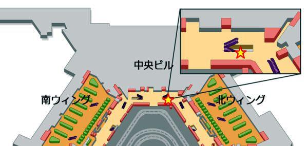 プリペイドSIM設置場所(1ターミナル)
