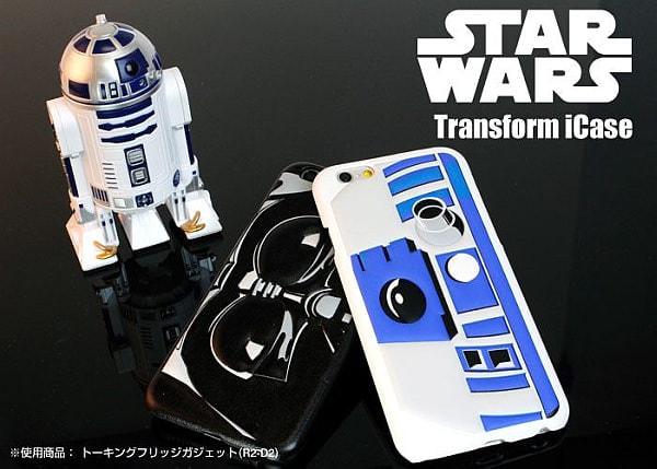 ダース・べイダーになれるiPhone 6ケース--R2-D2、C-3PO、ストームトルーパーもいるぞ