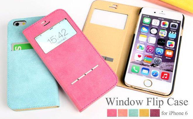 閉じたまま時間が分かる、窓付き手帳型iPhone6ケースがHameeから