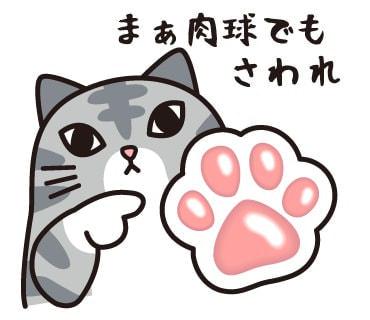 まぁ肉球でもさわれ--にゃんとも可愛い猫のLINEスタンプがフェリシモから