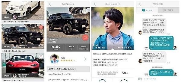 スマートフォンアプリのイメージ
