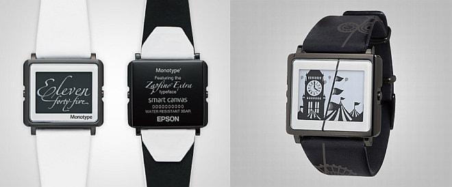 タイプディレクター 小林章氏が監修した「Monotype」(写真左)と デザインスタジオ WOWが手がけた「WOW」(写真右)シリーズの一例