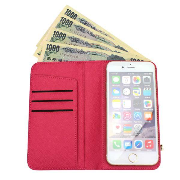 お財布「のような」ではなく、お財布「そのもの」のiPhoneケース