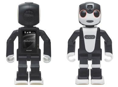 逃げだしたらどうなる?モバイル型ロボット電話「RoBoHoN」、シャープなどが開発