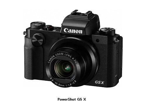 キヤノンの高級コンパクトカメラに新モデル--EVF搭載の「PowerShot G5 X」など