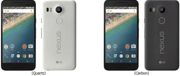 ドコモ、Android 6.0搭載「Nexus 5X」を発売