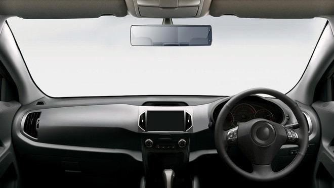 車内に設置しても目立たない