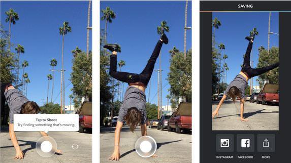 インスタグラムから動画アプリ「ブーメラン」登場、日常が驚きに
