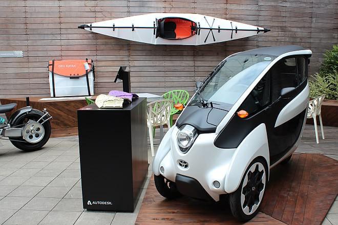 近未来がてんこ盛り!「TOYOTA i-ROAD」の展示や3Dプリントを楽しめる「Autodesk Gallery Pop-Up Tokyo」開催