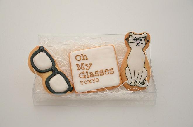 3等「ネコとメガネのアイシングクッキー」(50名) ※画像はサンプル