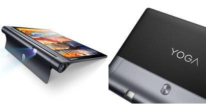 レノボYOGAシリーズのタブレット新製品「YOGA Tab 3」はエンターテイメント向け