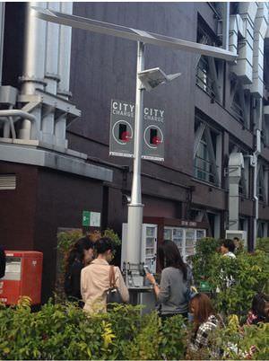 街中でスマートフォンを充電できる「シティチャージ」、東京タワーに続き虎ノ門ヒルズでも開始
