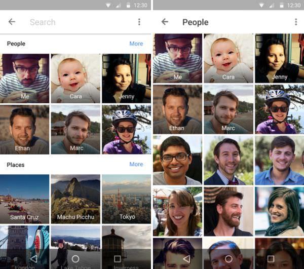 「Googleフォト」に新機能追加、人物別に写真を分類できる!