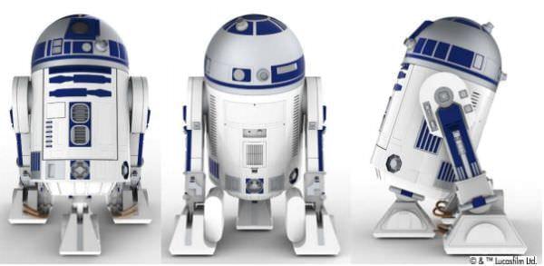 「R2-D2型移動式冷蔵庫」、ハイアールが限定販売