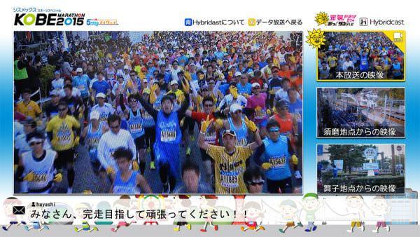 サンテレビが神戸マラソンでマルチアングルのライブストリーミング中継