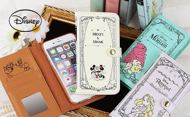 ディズニーの絵本みたい!iPhoneケース「Disney Book Style case」は女子力も上がりそう