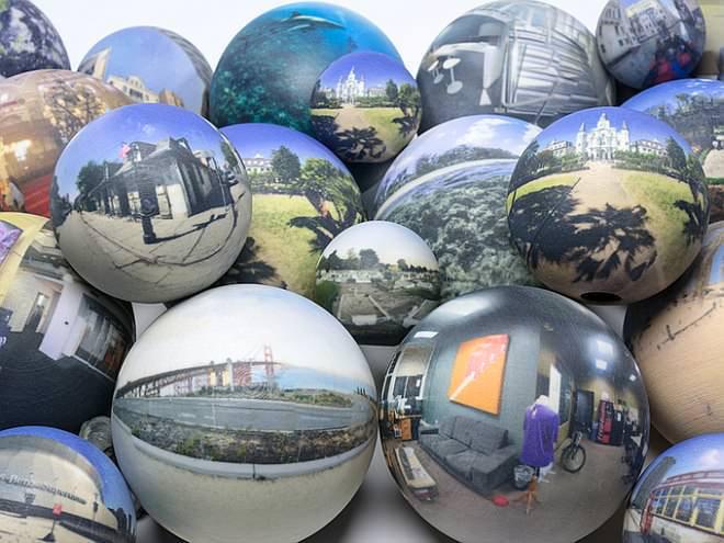 パノラマ写真をまんまるく印刷して楽しむ「Scandy Sphere」【Kickstarter】