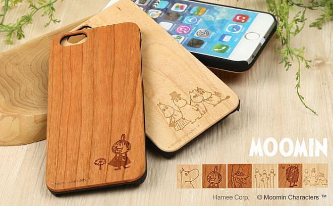 優しい気持ちになれそう--ムーミンを天然木にデザインしたiPhone6s/6ケース