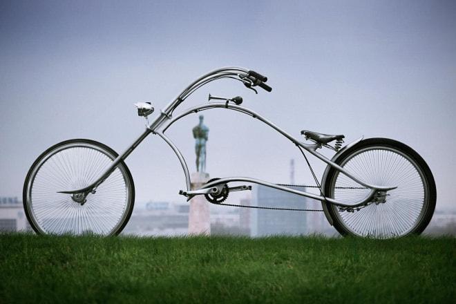 気分は『イージー・ライダー』?―チョッパーハンドルの自転車Ono Bikes「ARCHONT」で、ちょい悪オヤジを気取ろう