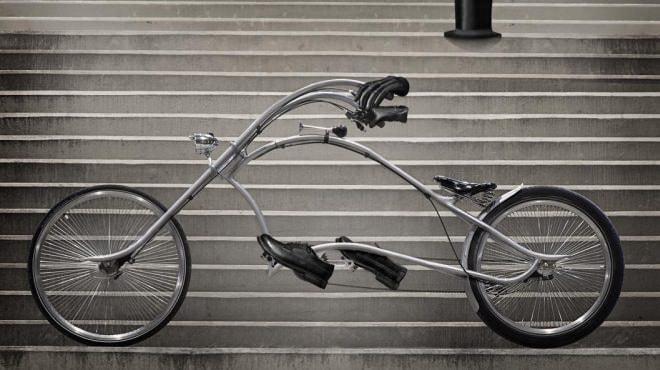 「ARCHONT」の全長は約3メートル 通常の自転車より1メートル以上長い