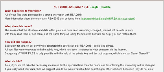 「Google翻訳を使ってね」ちょっと雑だ。丁寧でも困るが