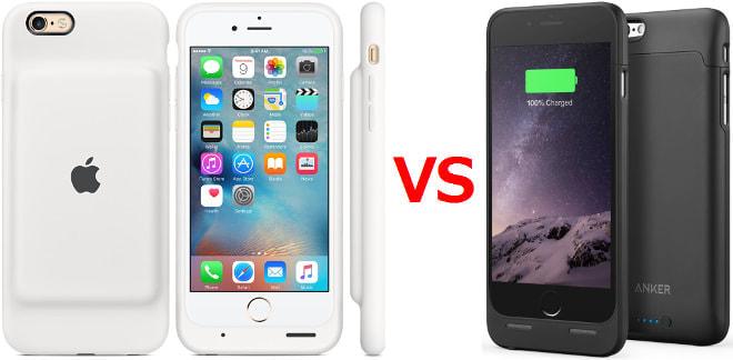 iPhone 6/6s純正バッテリーケース、そんなにすごい?―アンカー「うちは容量1.5倍、価格は3分の1」