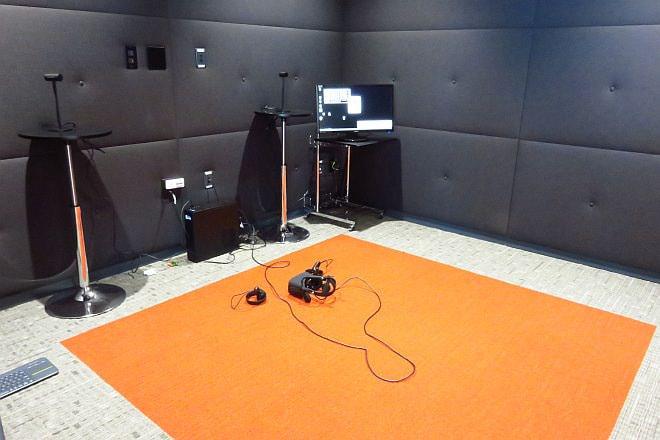 Oculus Riftのデモ専用の部屋