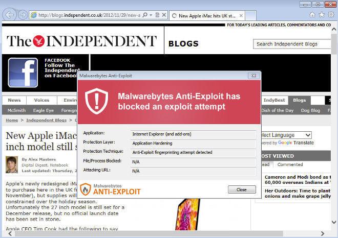 MalwarebytesはWordPressへの大規模な攻撃を推測している