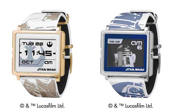「C-3PO」(写真左)と「R2-D2」(写真右)のモデル