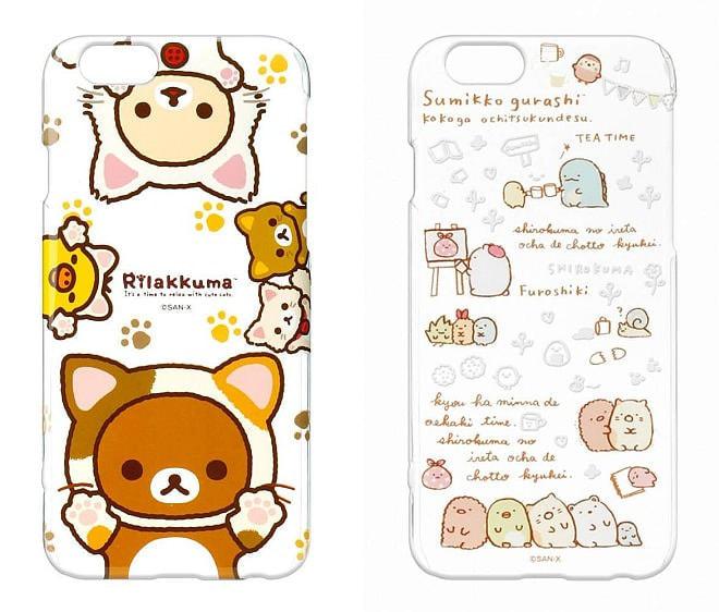 「リラックマ」や「すみっコぐらし」のiPhone 6s/6用ケース登場--やさしいピンク色が魅力