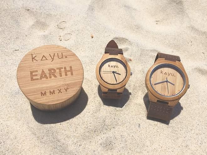 """""""竹""""でできた腕時計がKickstarterに--再生可能な資源で地球にやさしく"""