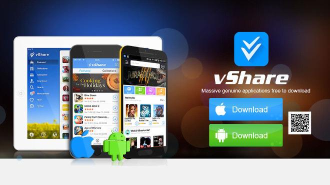 vShareのサイトは小奇麗だ