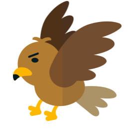 #鷹:ちゃんと鷹に見える?