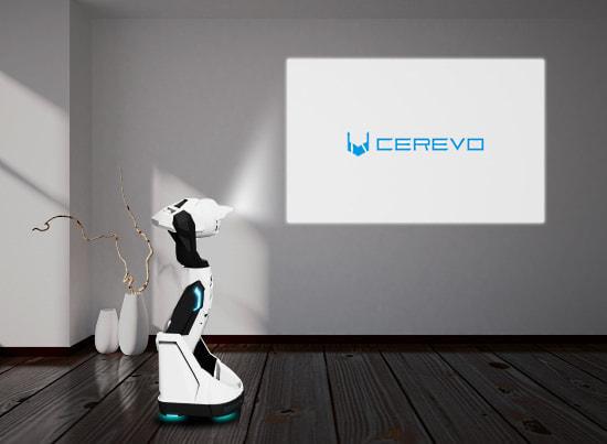 会議に便利かも!プロジェクター付きのロボット「ティプロン」