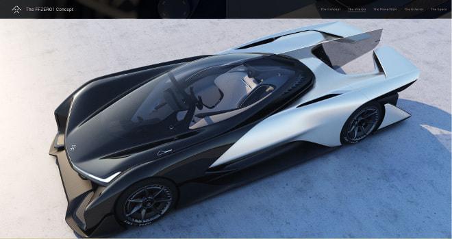 テスラのライバル?「ファラデー」1,000馬力の電気自動車を披露