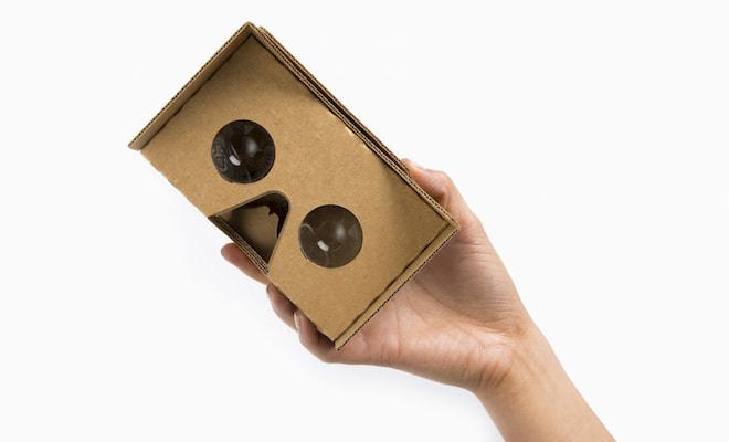 オキュラス・リフトに刺激を受けた?Googleの段ボール製VRゴーグル、かわいい