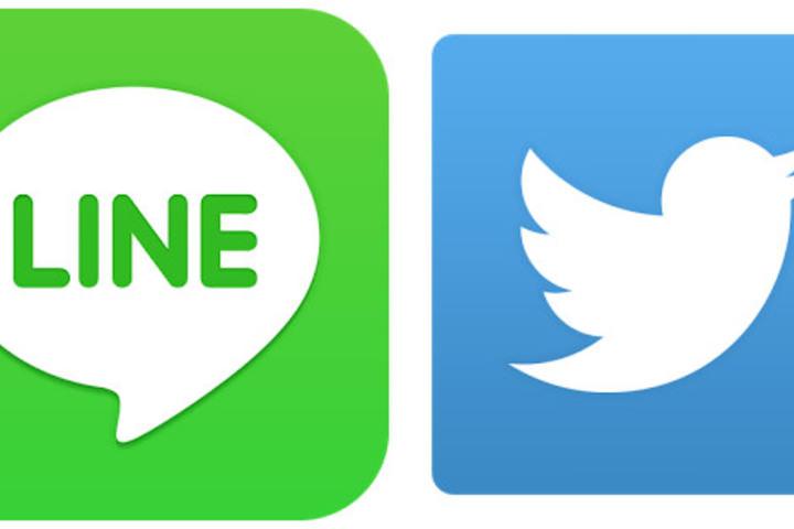 「LINEとTwitter」の画像検索結果