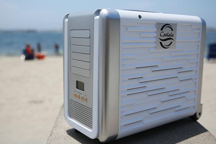 アウトドアで使えるエアコン「coolala」―キャンプやスポーツ観戦をより快適にする第三のエアコン インターネットコム