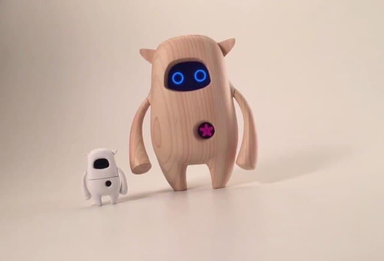ヒノキ作りのロボット、ありか?