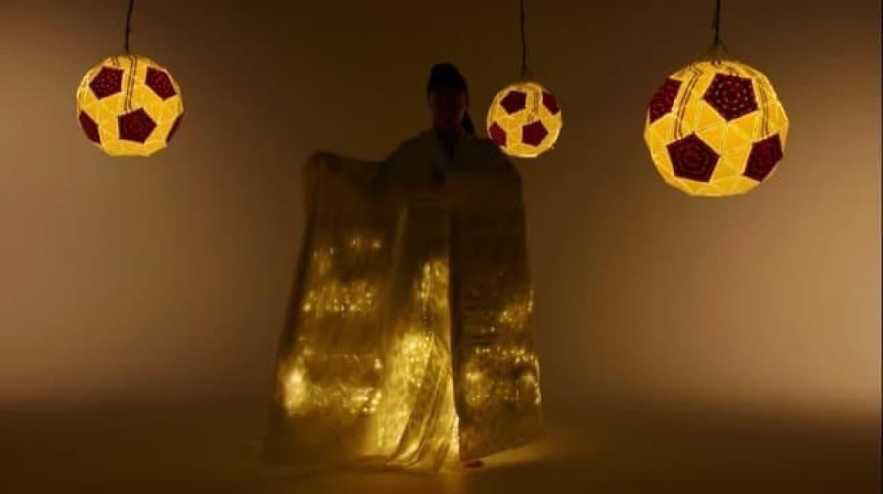 LEDで輝く