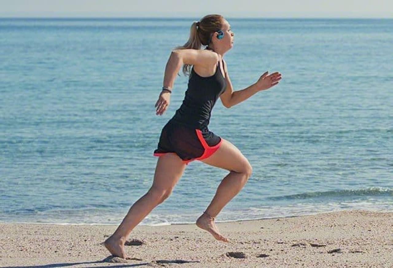実際は浜辺のランニングとかに使うのがよいのかも